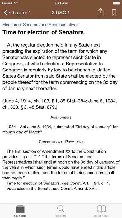 Screenshot #3 pour Codification (U.S. Code)