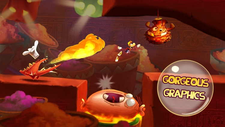Rayman Fiesta Run screenshot-3