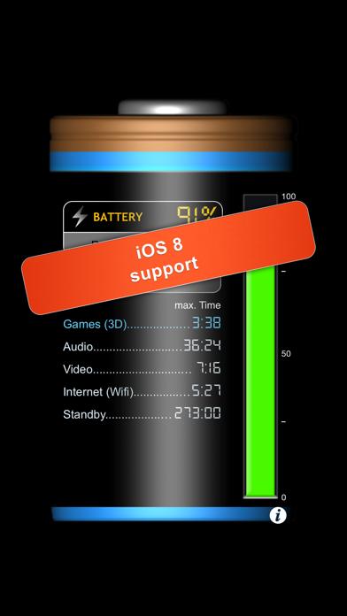 iBattery Pro - Battery status and maintenanceのおすすめ画像1