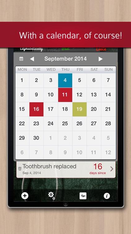 Last Time Memory Help: Remember it! screenshot-4