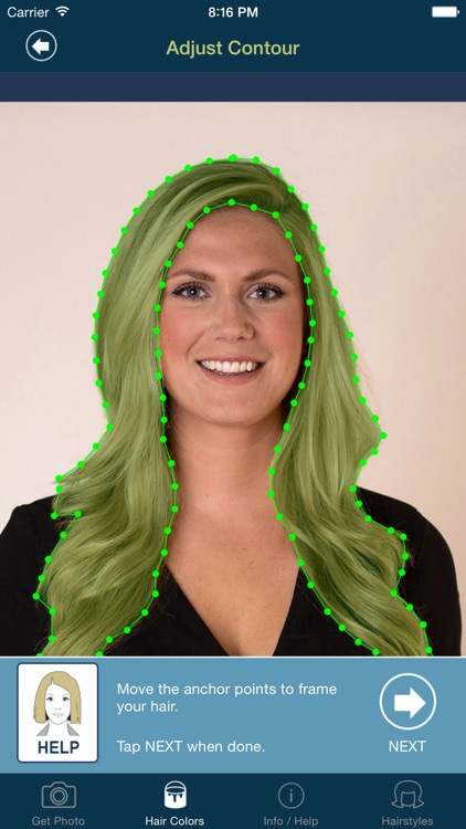 Hair Color Studio PRO - Try On a New Hair Colour screenshot-3