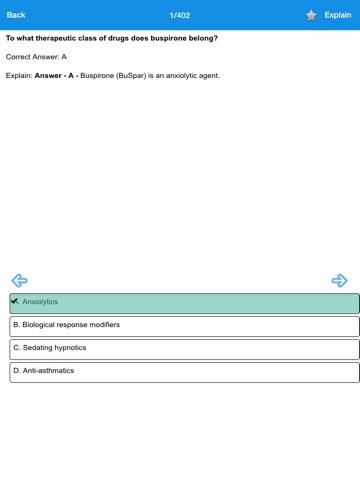 Screenshot #6 pour NAPLEX Test Prep