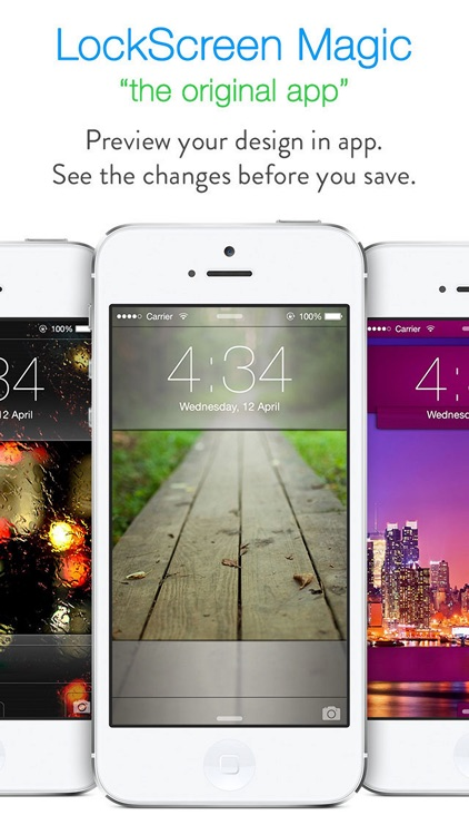 LockScreen Magic for iOS8 : Custom Themes, Backgrounds and Wallpapers for Lock Screen screenshot-3