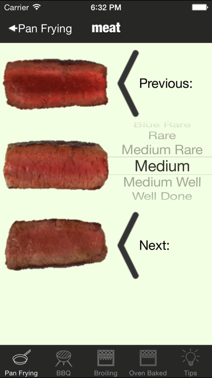 perfect steak timer: bbq, grill, fry and broiling