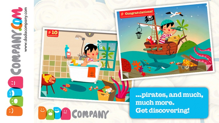 1000 Adventures - An interactive storybook, with animals, robots, dinosaurs, pirates, princesses … screenshot-4
