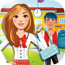 My High School BFF Fashion Club Dress Up Game - Your Virtual Star Salon World Maker Experience - The Free App