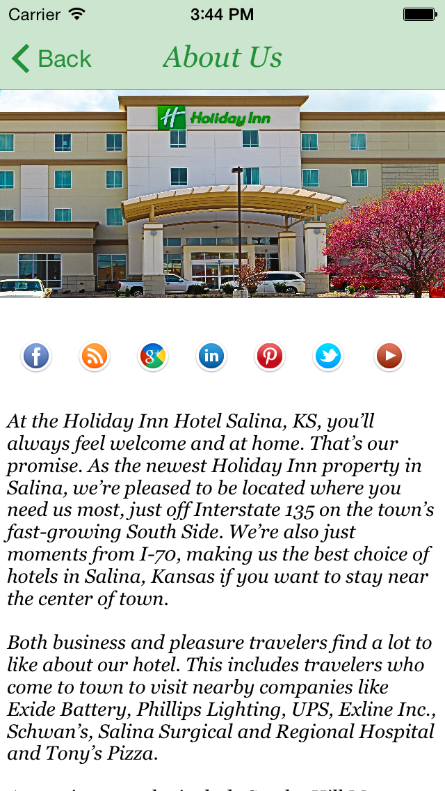 Holiday Inn Salina KS screenshot two