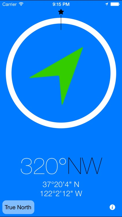 3pCompass - the most innovative compass app
