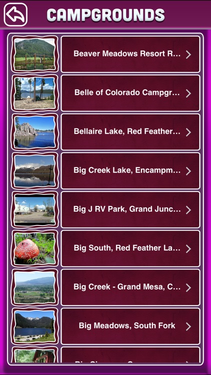 Colorado Campgrounds screenshot-2