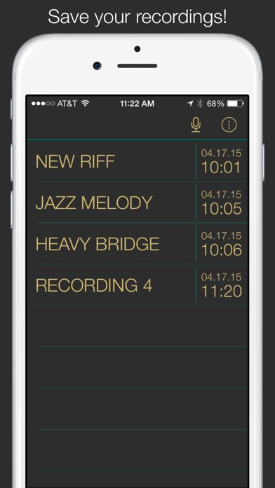 NoteDetector 2 Screenshot on iOS
