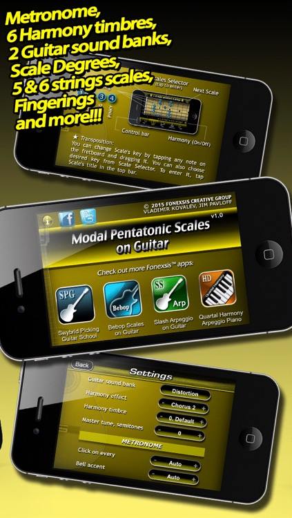 Modal Pentatonic Scales on Guitar screenshot-3