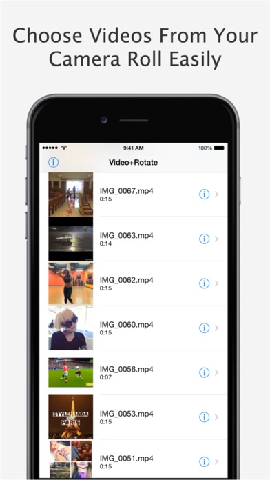 Video+Rotate & Flip Pro - for iPhone, iPod touch and iPadのおすすめ画像2