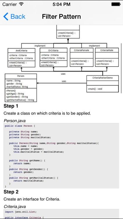 Design Patterns for Java/J2EE screenshot-4