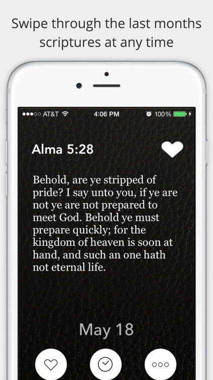 LDS Daily Scriptures - Inspirations from the book of mormon, spiritual bread