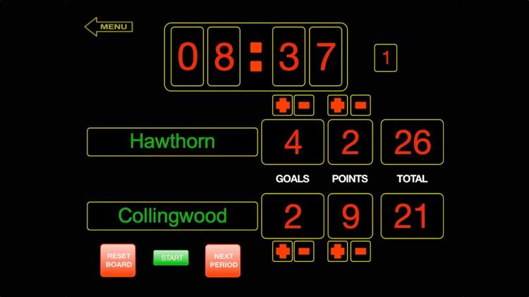 ScoreKeeper Scoreboard - iPhone