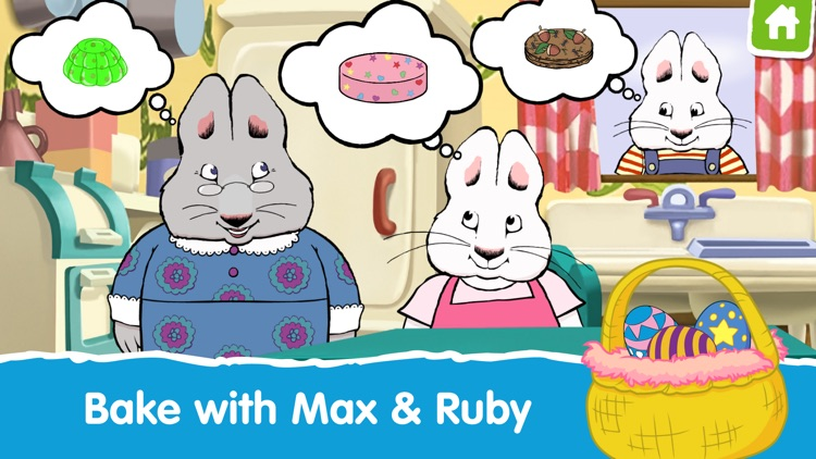 Max & Ruby Bunny Bake Off screenshot-0