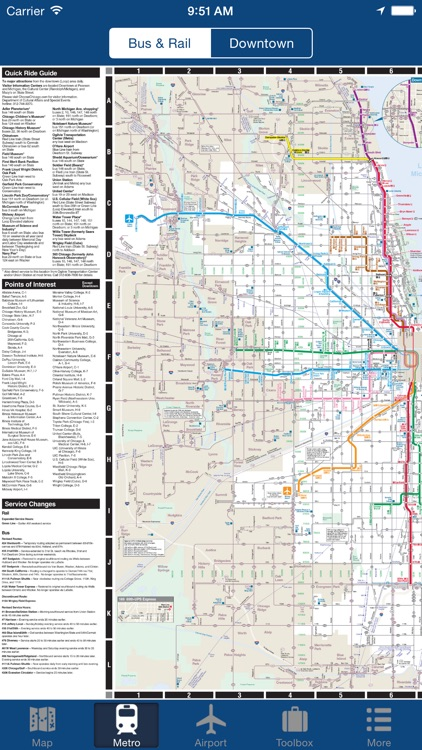 Chicago Offline Map - City Metro Airport