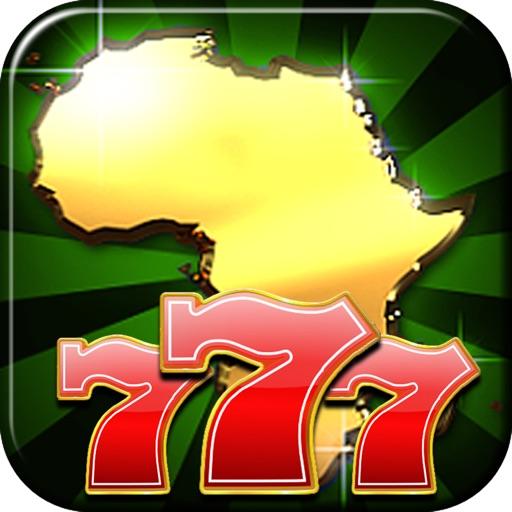 A Africa Slots of Sun 777 (Kalahari Lucky Bonus Wheel Casino Game) Free icon