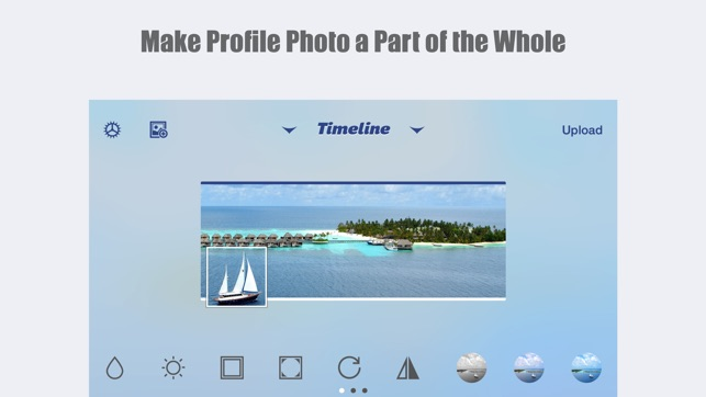 MagiCover: Timeline Cover Maker for Facebook Screenshot