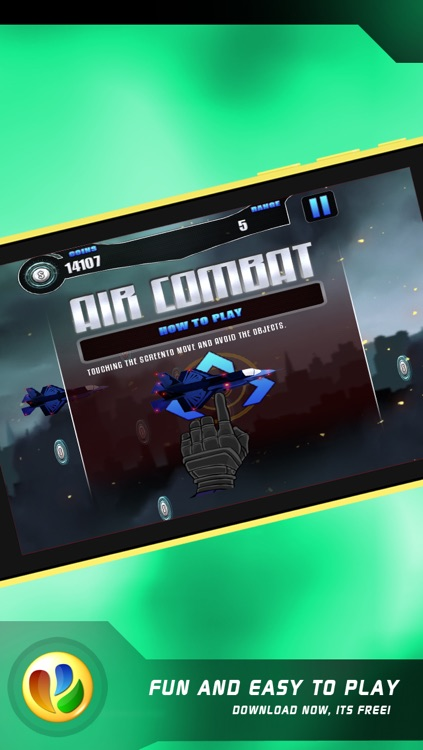 Air Combat – Free Jet Fighter War Game screenshot-4