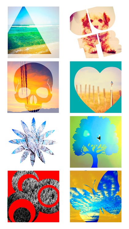 Insta Shapes - Snap pics & frame photos to silhouette symbol & alter for posts on IG, Fbook, flicker, tagged & tumblr screenshot-3