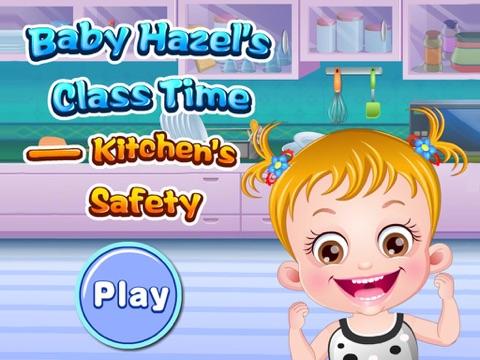 Скачать Baby Hazel's Class Time : Kitchen's Safety