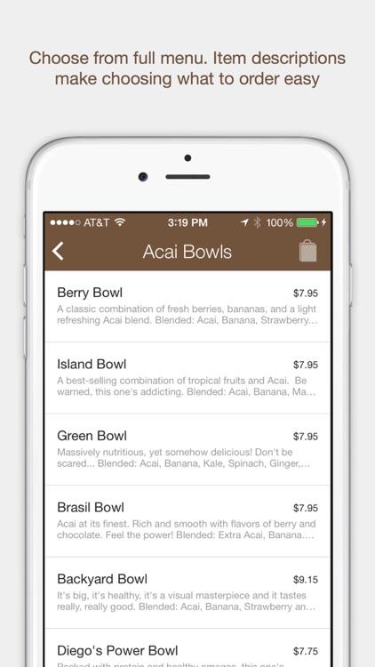 Backyard Bowls Menu backyard bowlssplick-it mobile ordering