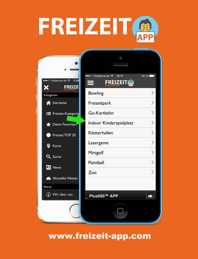 FREIZEIT App Screenshot