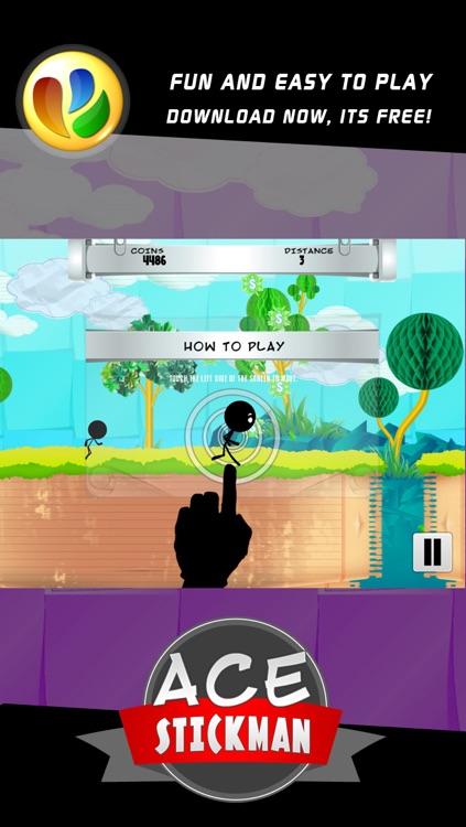 Ace Stickman Jump and Run Game screenshot-4