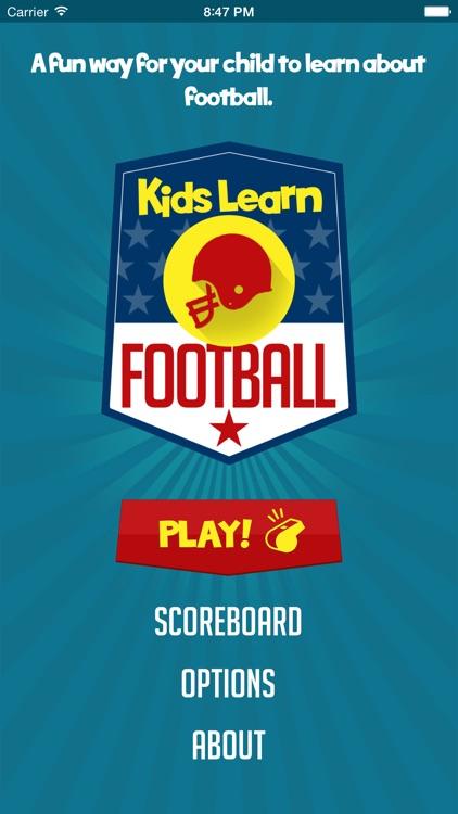 Kids Learn Football