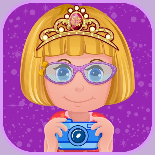 My Little Princess Photo Booth- Fairy tale dress up editor for girls