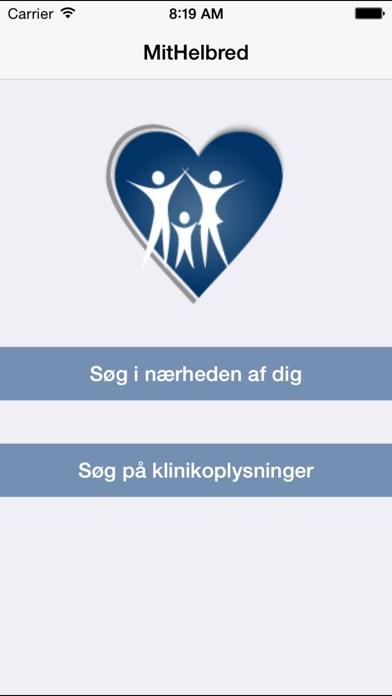 Screenshot for MitHelbred in Denmark App Store