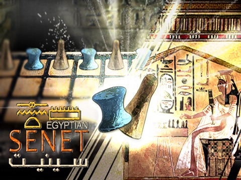 Egyptian Senet (Ancient Egypt Game Of The Pharaoh Tutankhamun-King Tut-Sa Ra)-ipad-0
