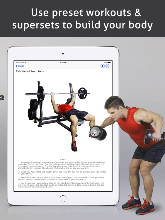 Go Fitness Pro HD screenshot-1