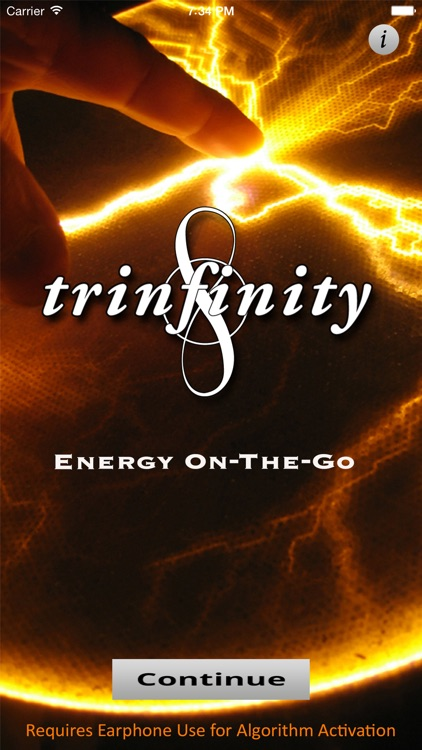 TRINFINITY8 :  Energy On-The-Go screenshot-0
