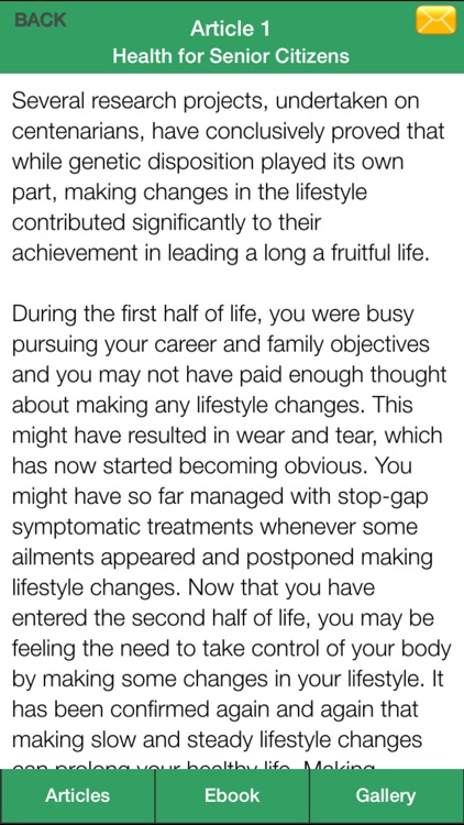Senior Citizen Guide - A Living Guide To Life Planning For Senior Citizen ! screenshot-4