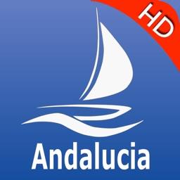 Andalusia GPS Nautical charts pro