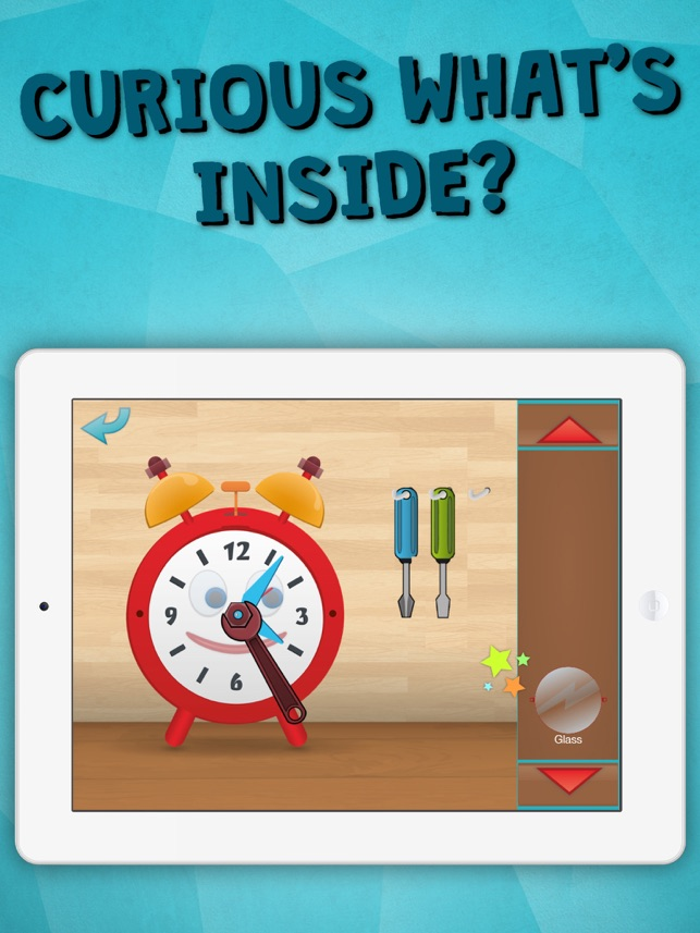 ‎Time Telling Fun for school Kids Learning Game for curious boys and girls to look, interact, listen and learn Screenshot