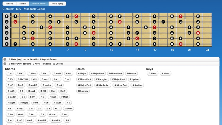 Guitar Chords n Scales screenshot-3