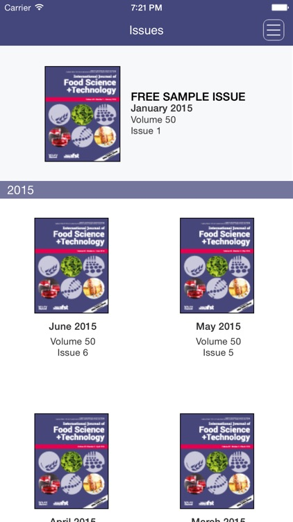 International Journal Of Food Science And Technology By Wiley Publishing