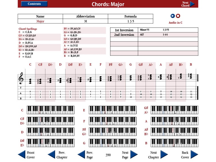 Strings and Ivory: The Exhaustive App of Chords and Scales screenshot-3