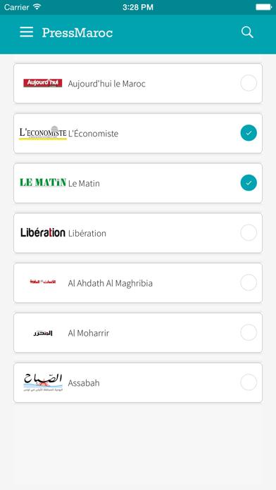 PressMaroc - Actualité en direct - Presse marocaine et infos en live screenshot three