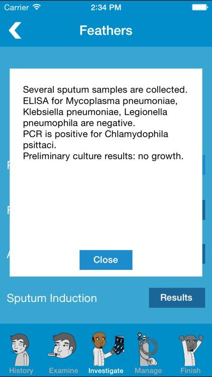 Prognosis : Respiratory screenshot-3