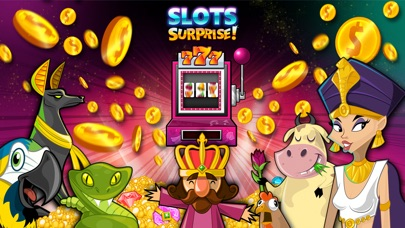 Screenshot #6 for Slots Surprise - 5 reel, FREE casino fun, big lottery bonus game with daily wheel spins