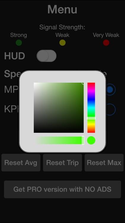Speedometer. Free - Top Speed, Average Speed, Direction, Elevation, Trip, Fast screenshot-3