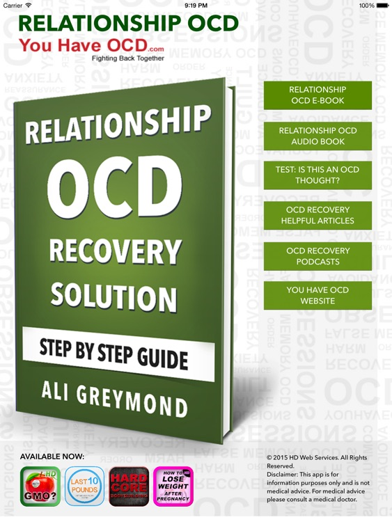 Relationship OCD Recovery HD