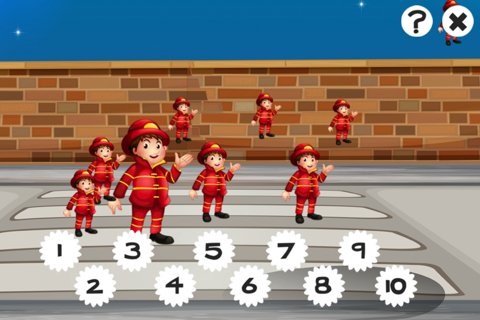 A Firefighter Counting Game for Children: Learning - náhled