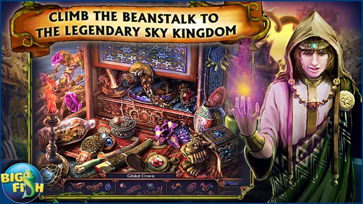 Dark Parables: Jack and the Sky Kingdom - A Hidden Object Fairy Tale screenshot-1