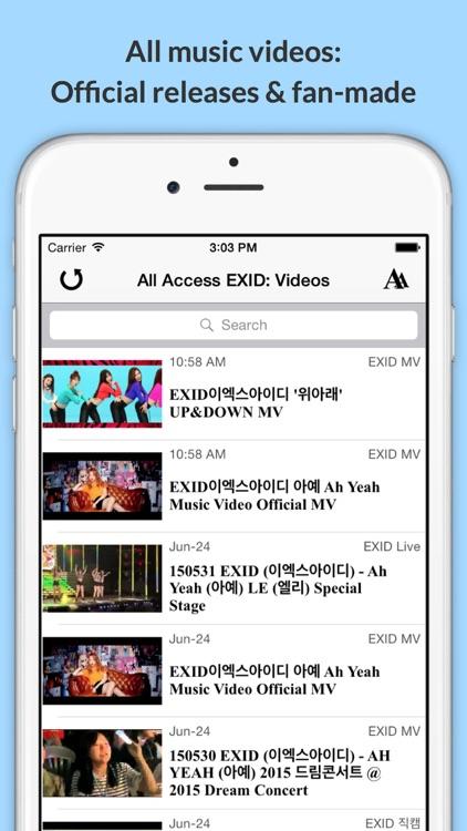 All Access: EXID Edition - Music, Videos, Social, Photos, News & More! screenshot-3