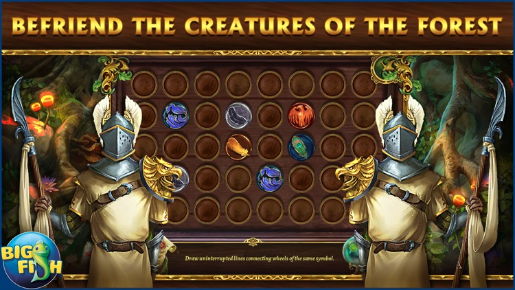 Grim Legends 2: Song of the Dark Swan - A Magical Hidden Object Game screenshot-2
